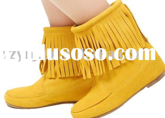 2011 most popular casual boots Minnetonka for spring summer autumn
