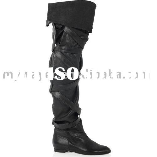Christian Louboutin Flat over-the-knee boots