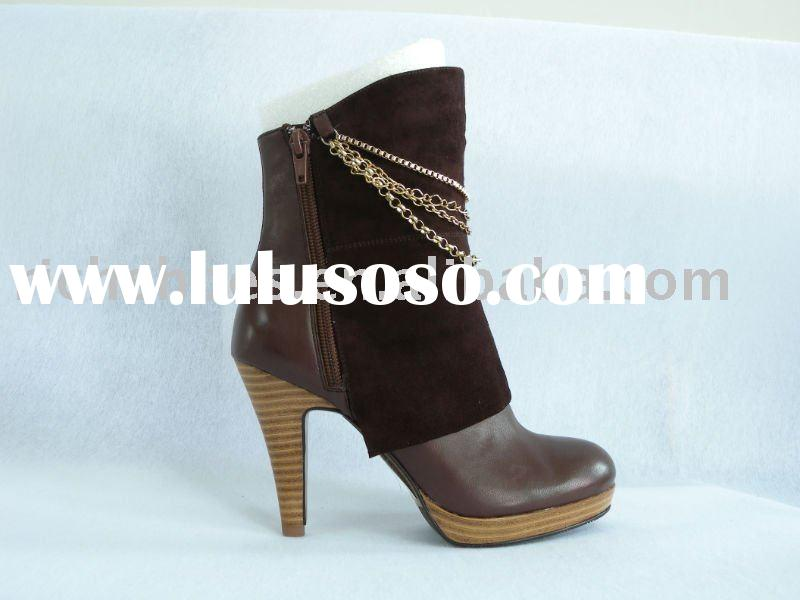 Designer ladies leather boots