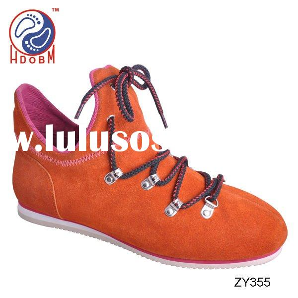 Fashion mens suede casual shoes