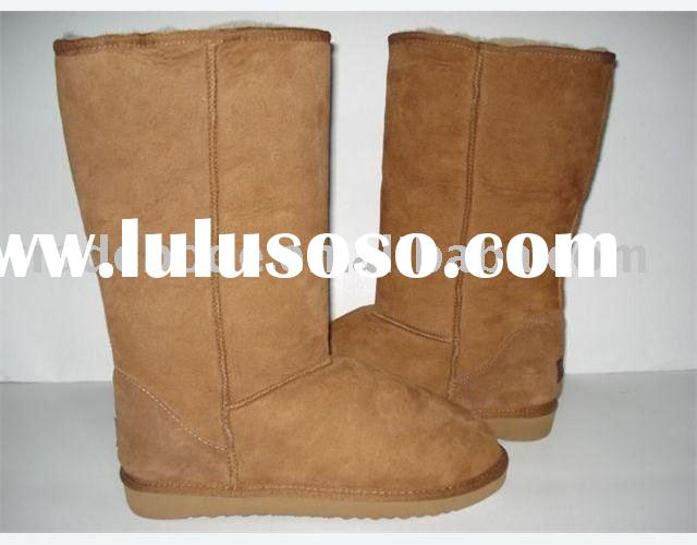 Flat fashionable ladies boots
