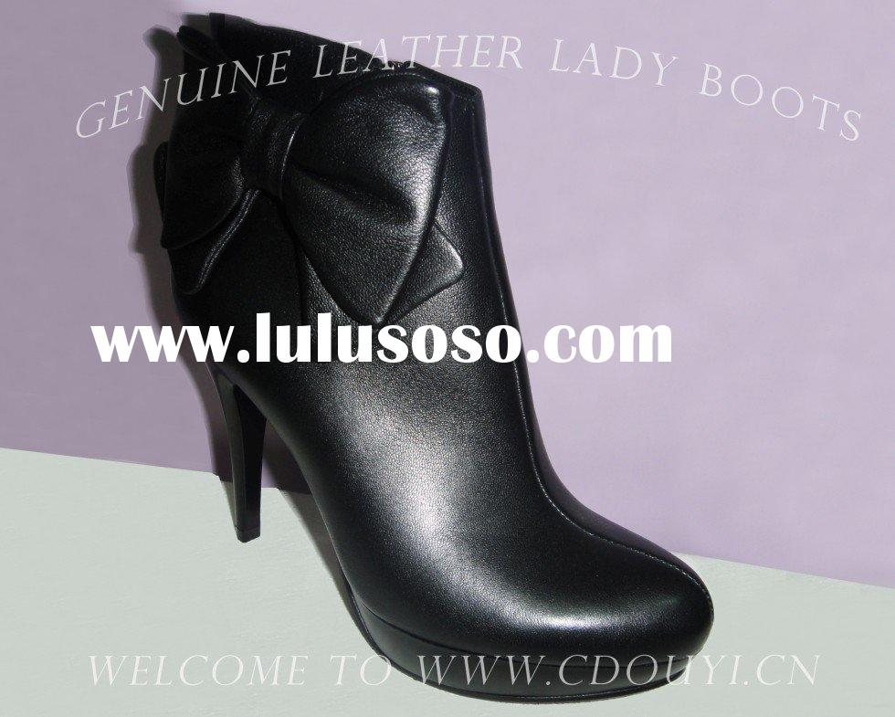 Genuine Leather Fashion Women Boots