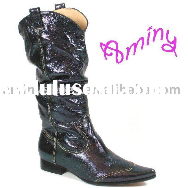 Women leather womens boot