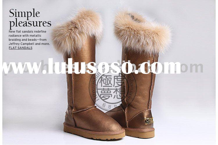 elegent leather  boots for women  fashion lady shoes
