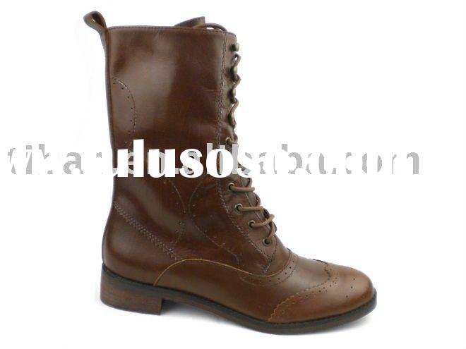 fashion women military boots