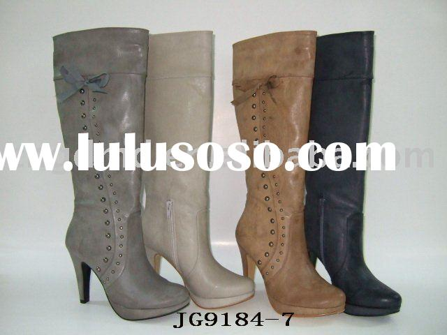 ladies' fashion platform boots