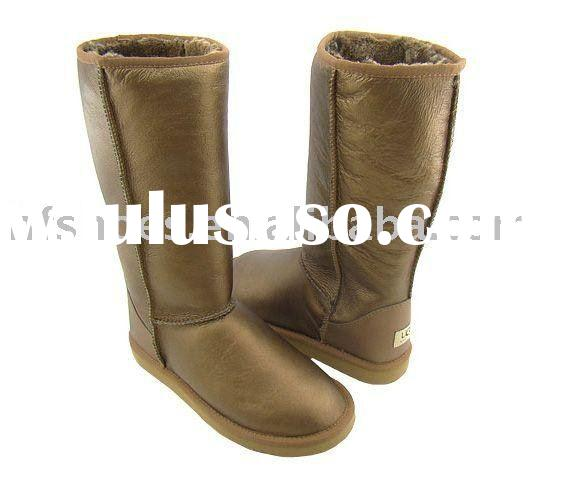 ladies snow boots 100% Genuine Australia Sheepskin Boots 2011 hot sell