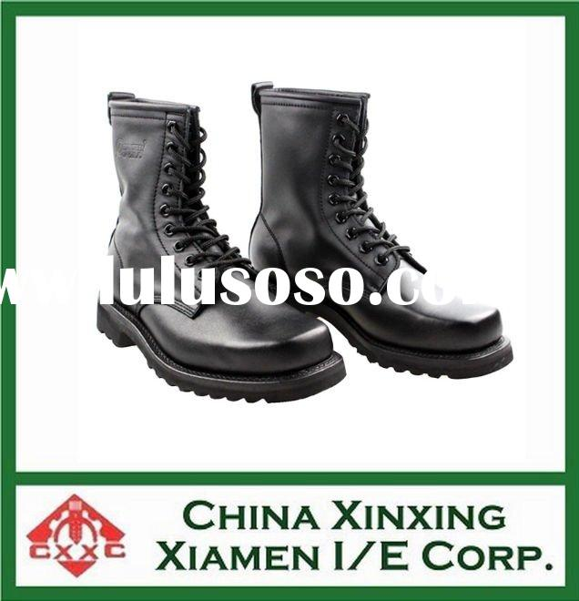 men leather military boots