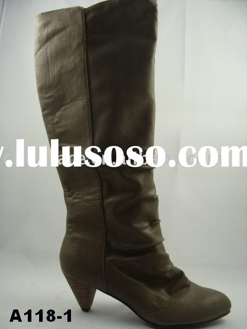woman tall boots