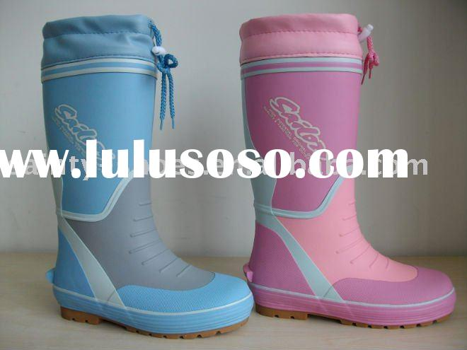 kids' rubber boots