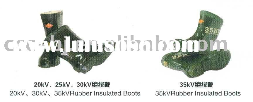 rubber insulated boots