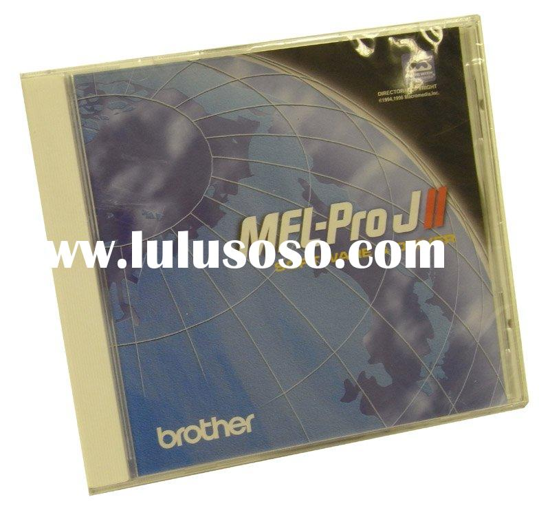 CD Rom replication with jewel case packing