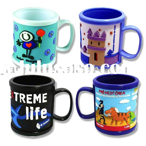 Colorful Promotional Mugs with logo printed