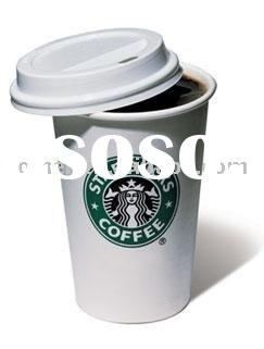 HMC686 Starbucks porcelain mug with silicone lid
