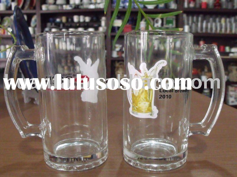 New product big capacity 400ml glass cup