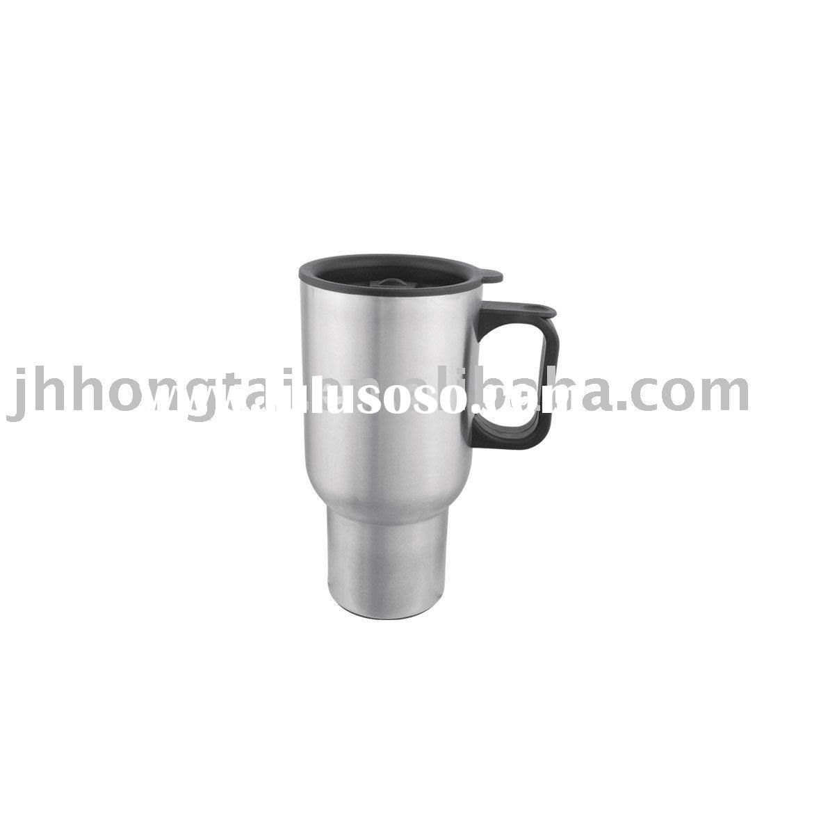 Stainless steel Travel mug with handle