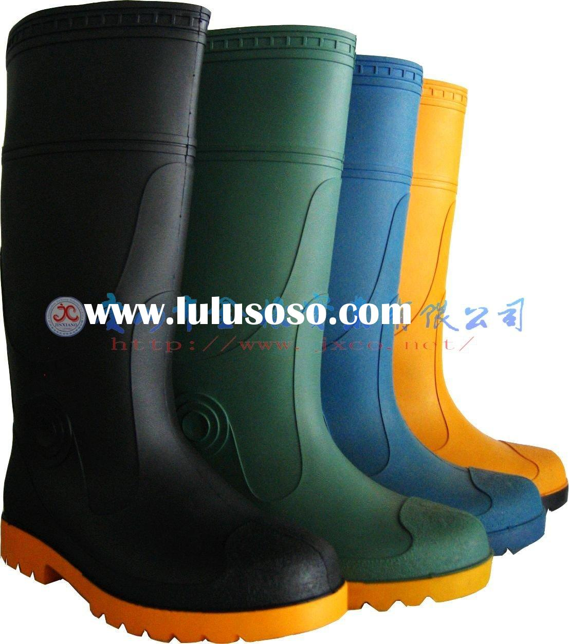 Steel toe &sole safety boots