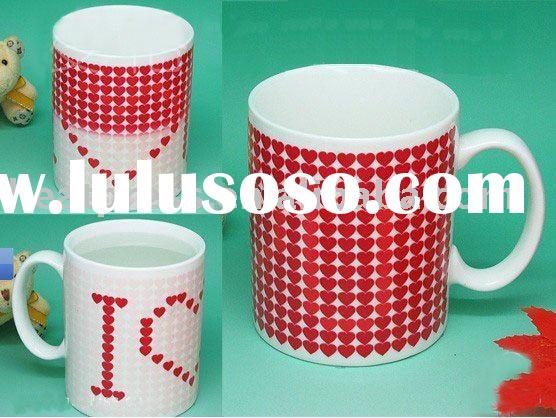 beautiful Color Changing Coffee Mug in wholesale