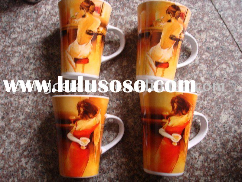 beautiful girl coffee mugs