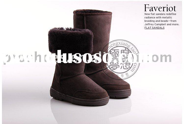 fashion winter sheepskin women boots