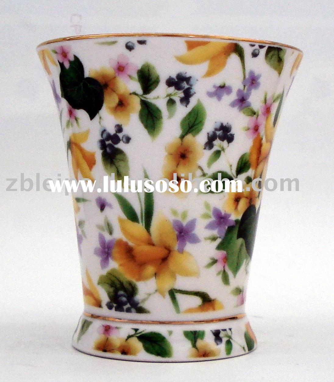 fine bone china mug cup with colorful design