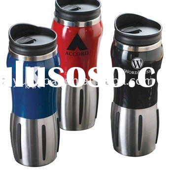 promotional wide mouth  stainless steel travel mug