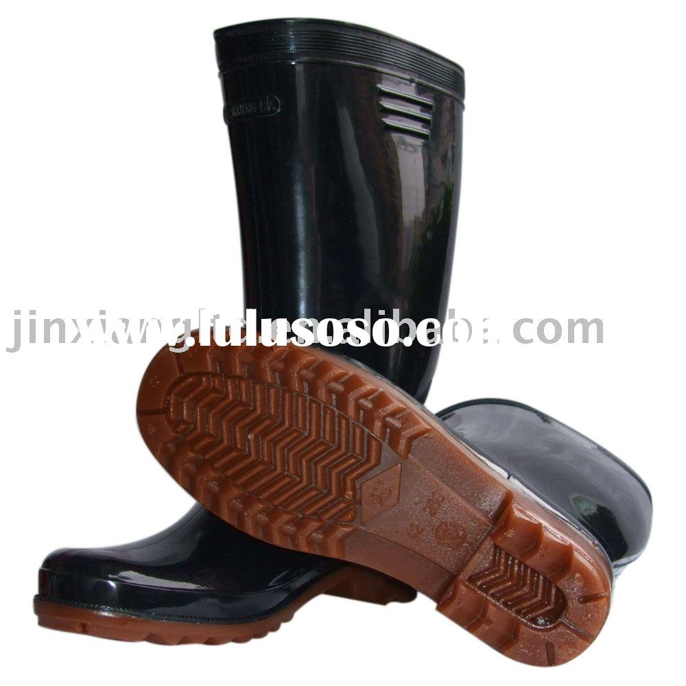 rubber industrial rain boots