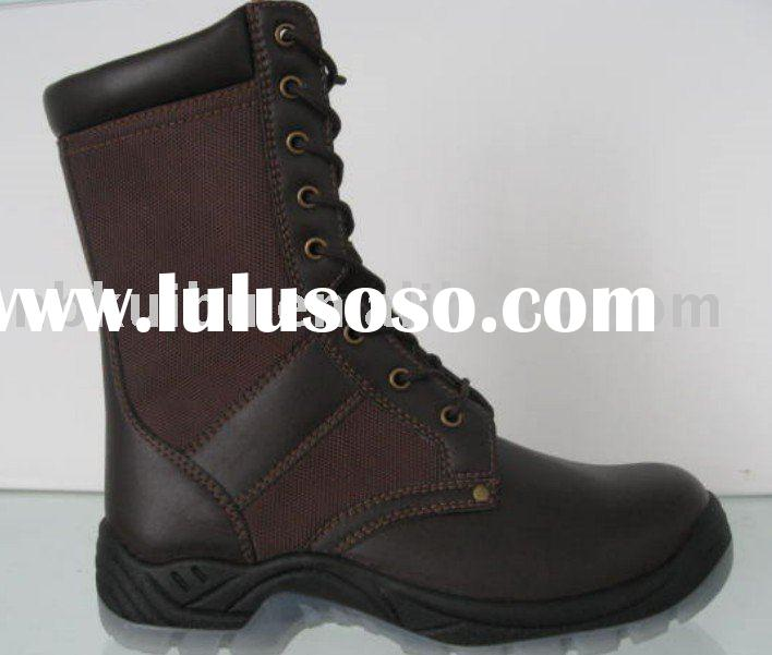rubber military boots