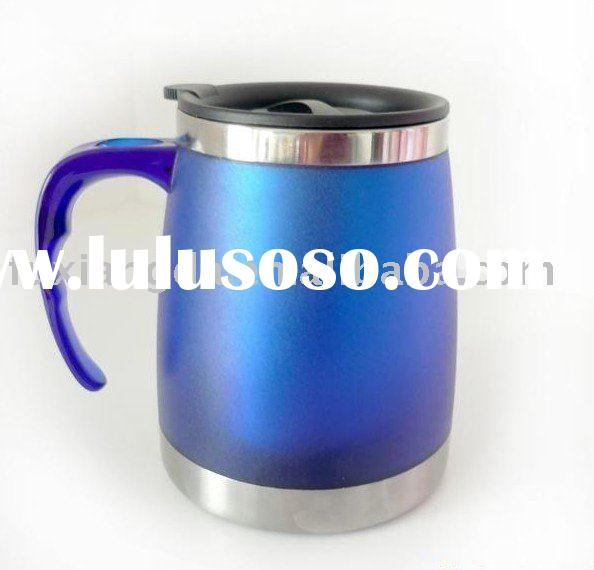 stainless steel plastic auto mug,water mugs