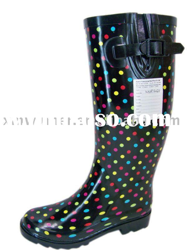 sweet&cute young ladies rubber wellies boots