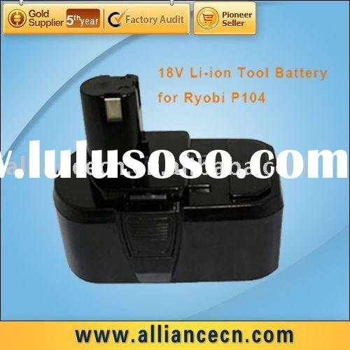 18V Li-ion Cordless Power Tool Battery Pack for RYOBI P104
