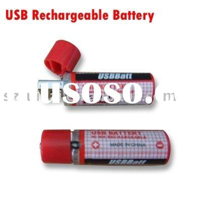1.2V AA Size USB Rechargeable Battery