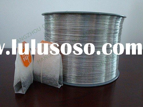 Aluminum wire for teabag packing