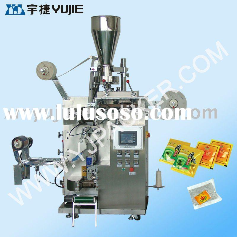 Automatic dual teabag packing machine (inner bag with string and tag)