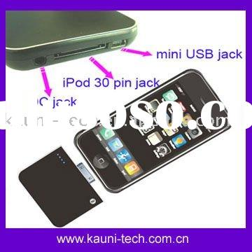 Battery pack for iPhone, iPod, Mobile phone, mp3/mp4