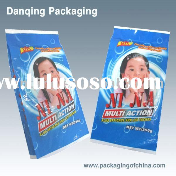 Detergent powder packaging bags