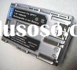 Digital camera battery for Canon BP-511