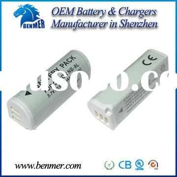 For Canon battery  NB-9L