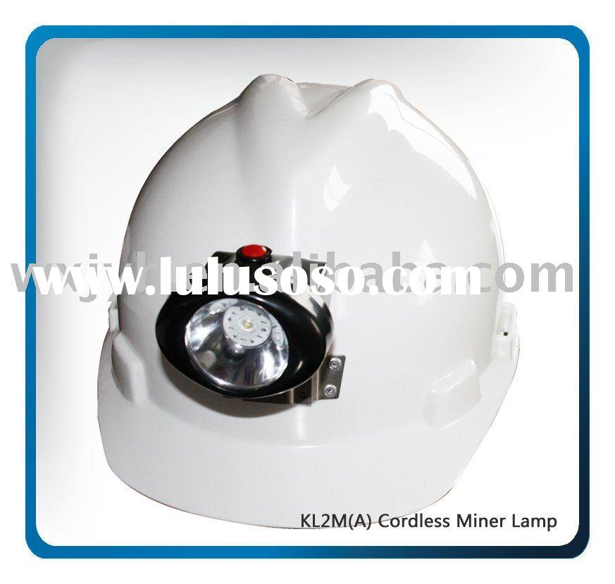 LED safety cordless miners lamp