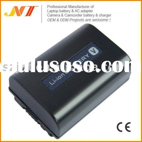 Latest! Rechargeable Camcorder Battery Pack for Sony NP-FV50 series