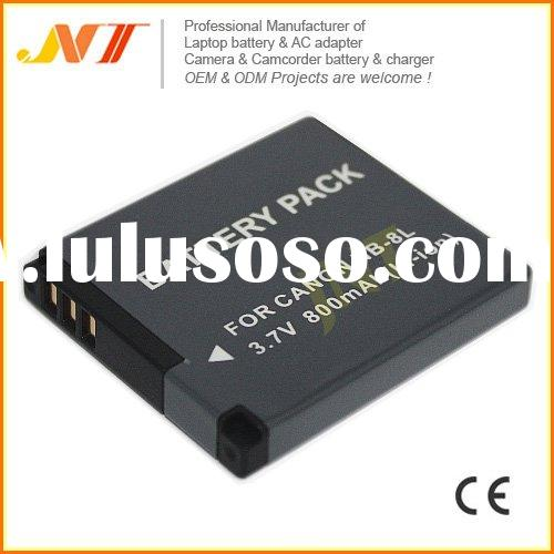 Latest! Rechargeable Camera Battery Pack NB-8L For Canon PowerShot A3000 A3100