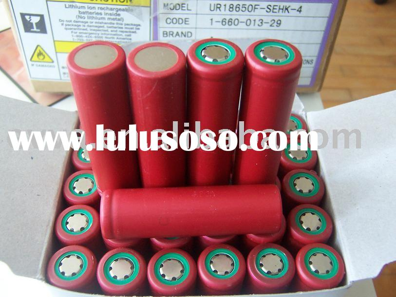 Lithium ion 18650 battery cell Sanyo  UR18650F 2400mAh