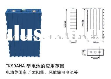 Lithium ion Power Battery Pack SE100AHA for EV