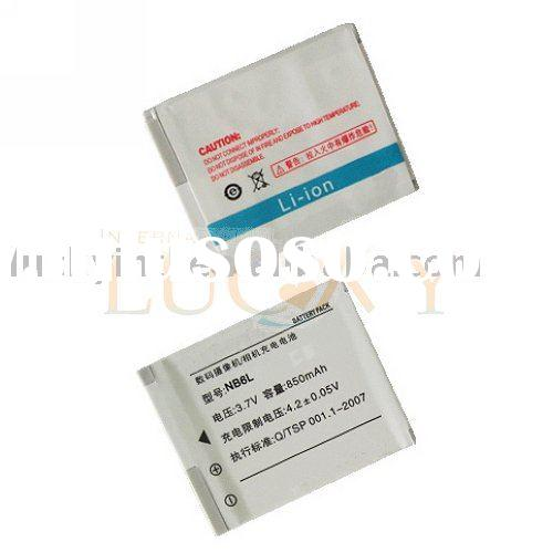 NB-6L for Canon IXUS85 Digital Camera Battery