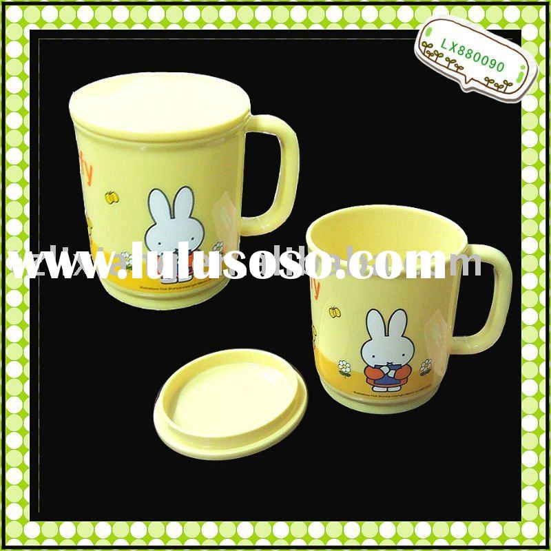 Plastic Mug Kids Mug with lid