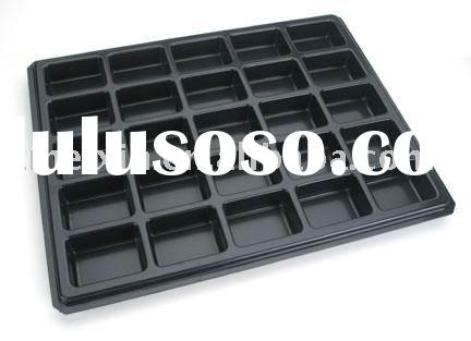 Plastic tray, vacuum formed tray