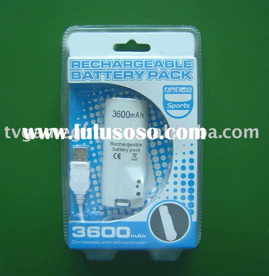 Rechargeable battery for Wii