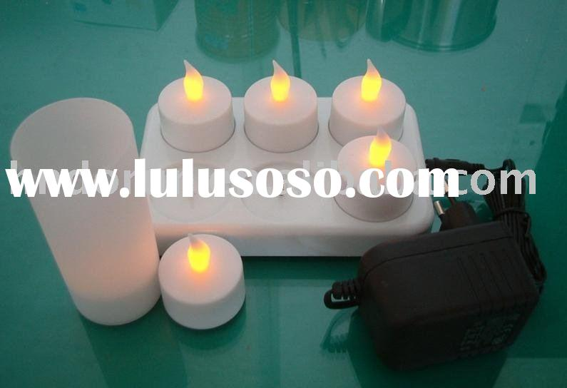 Rechargeable led candle flameless