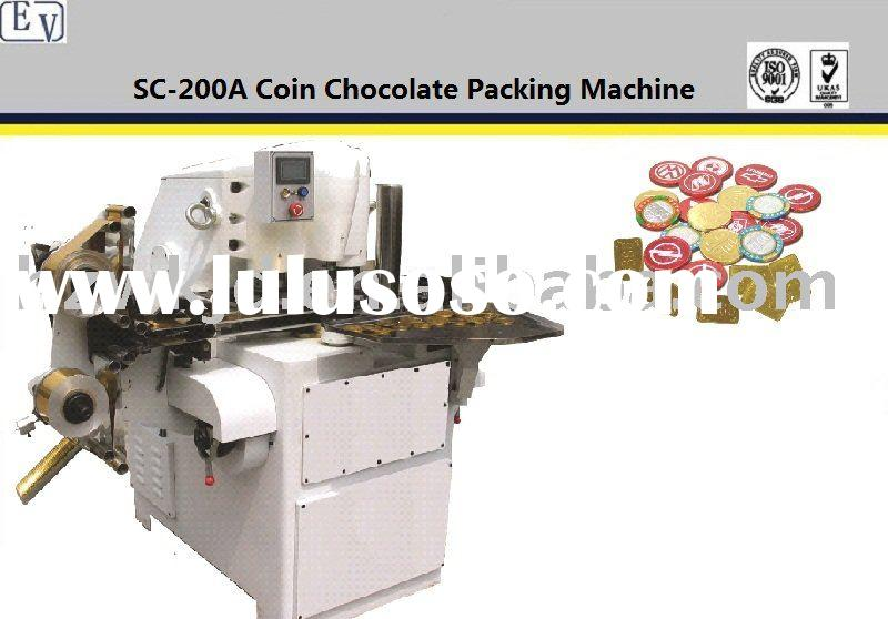 SC200A chocolate coin wrapping machine
