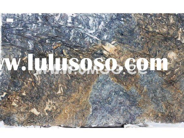 Volcano Flame, Granite Slab, Stone